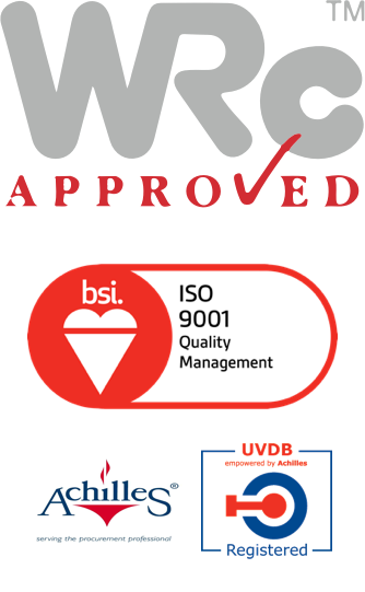 BSI Assurance Mark ISO 9001 Quality Management, Achilles, UVDB Registered